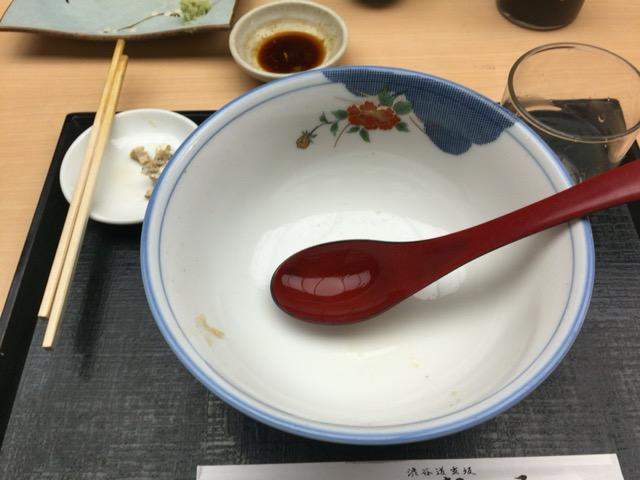 お蕎麦間食の画像