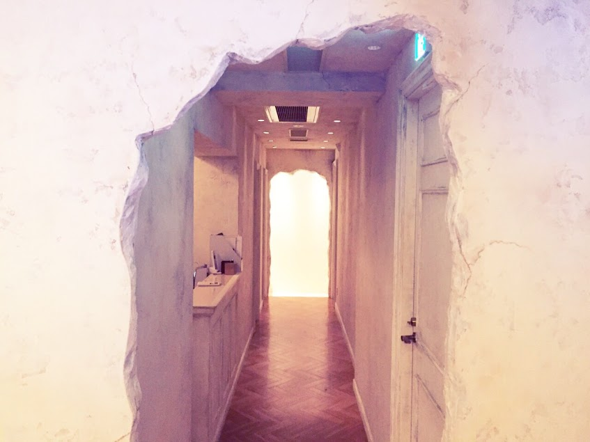 アイビックスの入り口