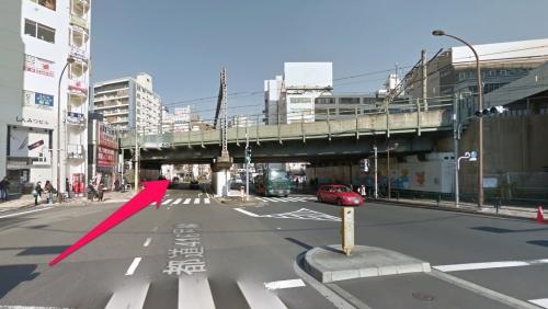 恵比寿駅2番出口をでたところ