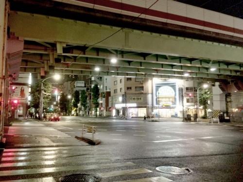西麻布交差点の写メ