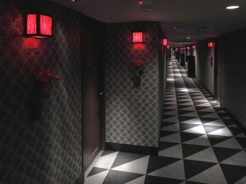 クラブズー東京の個室VIPへの廊下
