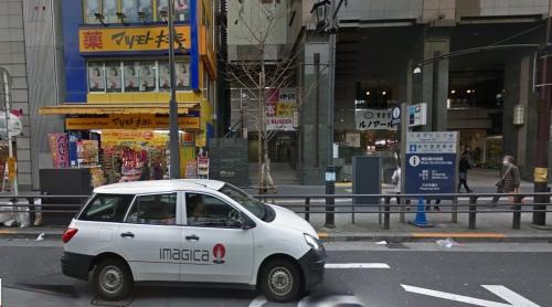 六本木駅3番出口からズーへの行き方写メ