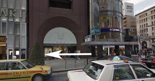 銀座駅A2出口