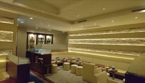 銀座の高級クラブ、ビジュ(bijou)の店内画像