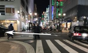 銀座フジコへの道4