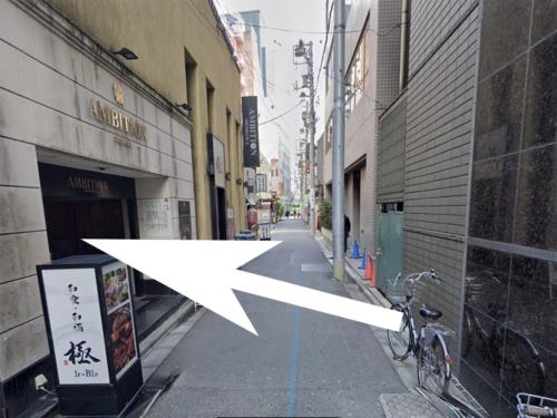 上野アンビションへの道