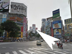 渋谷シーサイドへの道