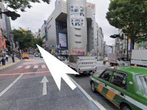 渋谷バーニーズトーキョーへの道