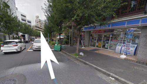 恵比寿チケッツへの道