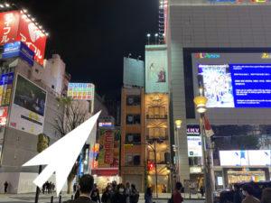 ベネ東京新宿への道