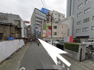 中野リオネルへの道